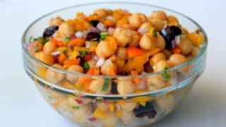 Kitchen Sink Chickpea Salad