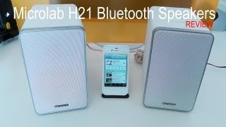 Microlab H21 Bluetooth Speakers Review