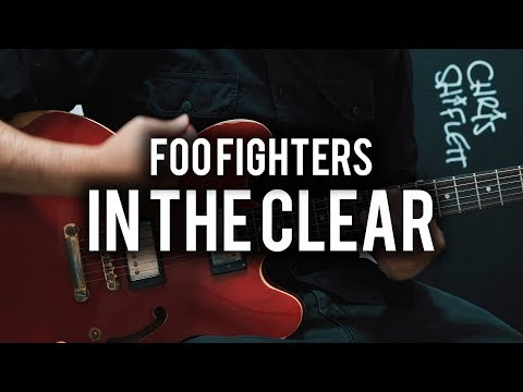 Foo Fighters - In The Clear - Guitar Cover - Fender Chris Shiflett Telecaster - Epiphone ES335