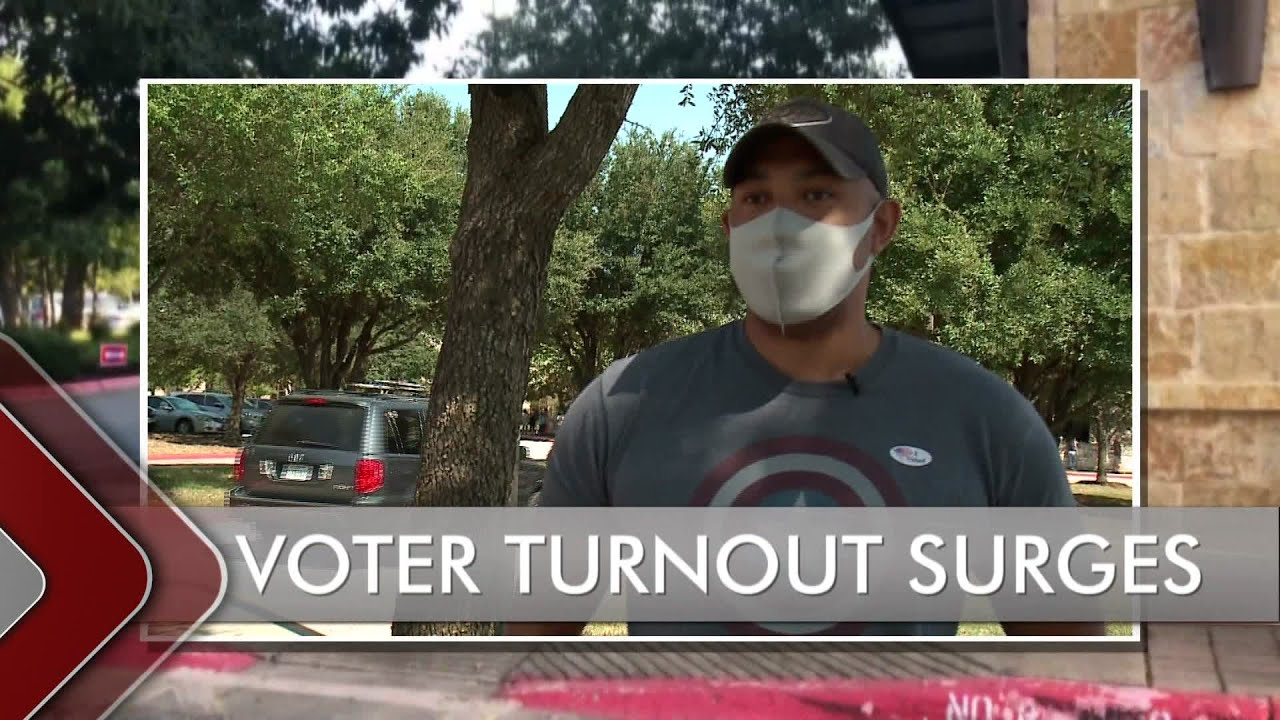 State of Texas – Impact of record turnout for early voting