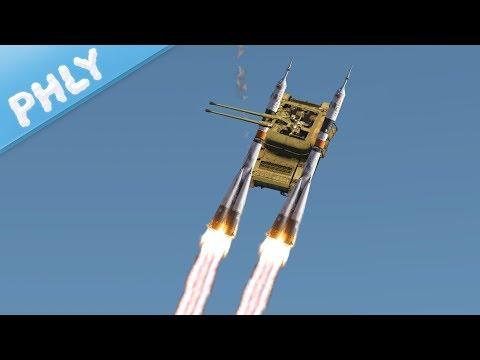 Russia's Secret Weapon - The ZSU-9000 DOOM MACHINE (War Thunder)