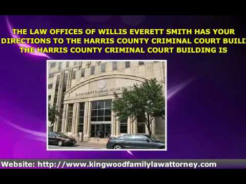 HARRIS COUNTY CRIMINAL COURTS DIRECTIONS - YouTube