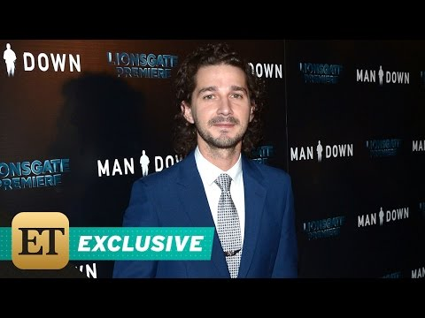 EXCLUSIVE: Shia LaBeouf Explains Why He Insisted on Being Pepper-Sprayed for 'Man Down' Role