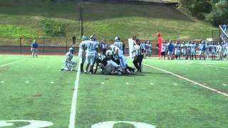 Gambar cover Nichols College football vs Becker 9-20-14