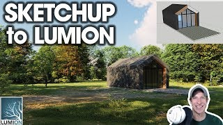 Lumion Photorealistic Rendering from SketchUp Model (EP 1) - Modeling and Importing from SketchUp