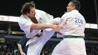 【新極真会】全ヨーロッパ大会2011   重量級 1回戦 ドナタス・イムブラ...