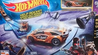 GUARDIANS OF THE GALAXY PLAY SET NEW 2014 HOTWHEELS