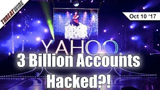 3 Billion Yahoo Accounts Hacked; Disqus Hacked! - Threat Wire