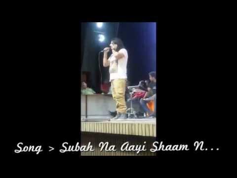 Subah Na Aayi, Shaam Na Aayi - Live By Amit Mutreja