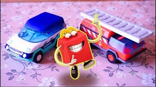 Happy Meal Building Block Terbaru, Mainan Mobil Pemadam dan Mobil Veterinary | Mainan Anak Laki-laki