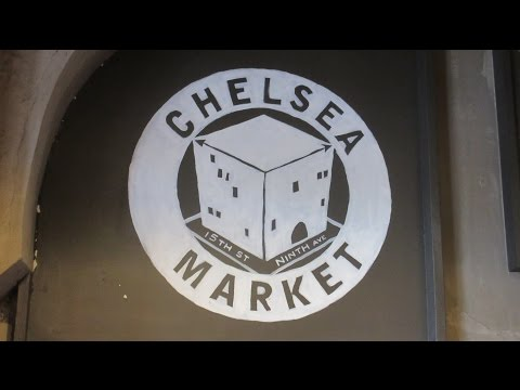 USA New York City Chelsea Market Food Hall Ninth Avenue Midtown Manhattan
