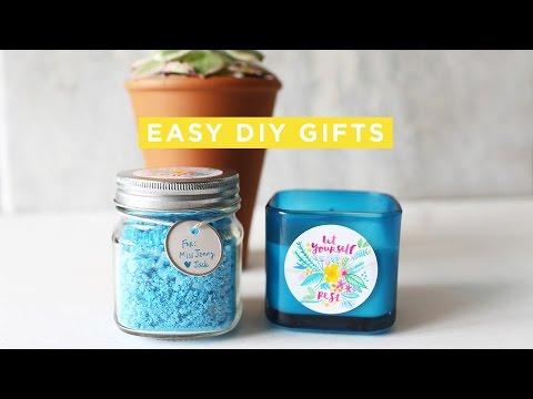 DIY Easy Teacher Gifts + Free Printable