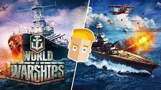 World of Warships Blitz на Android/iOS - ОБЗОР