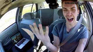 World's Dumbest Driver: Texting While Driving - CAR and DRIVER
