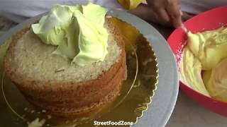 Simple Cake Decoration at Home | Rasmalai Cake Decoration | #foodvlogs | #streetfood | Cakes