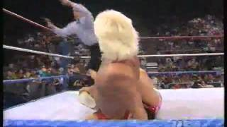 Ric Flair Finisher - Figure 4 leg lock
