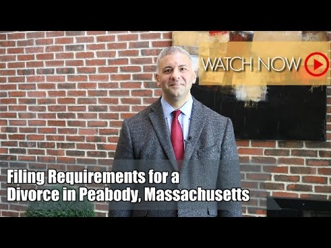 Thinking About Filing a Divorce in Massachusetts? | Family Law Attorney | Peabody Divorce Attorney