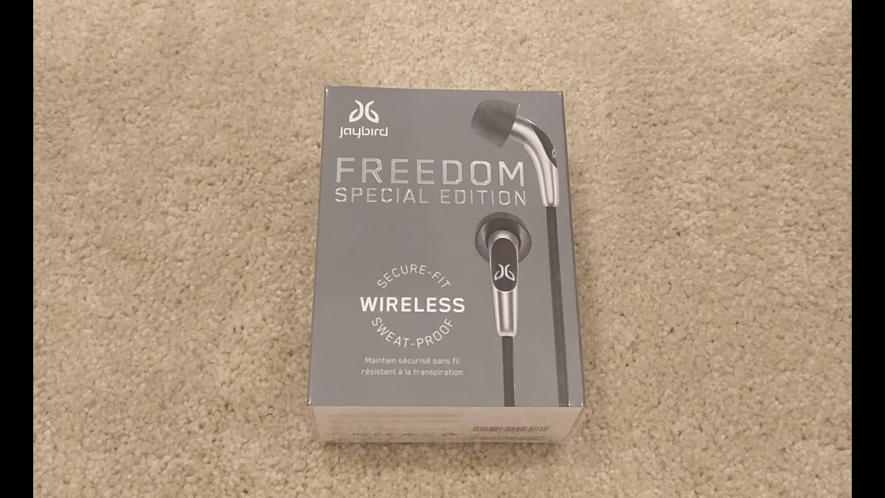 b01db72d7fc JayBird Freedom Special Edition Wireless Headphone Unboxing - YouTube