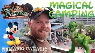 Camping in Disney World For Christmas!!!