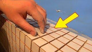видео Мозаика в ванной: укладка своими руками