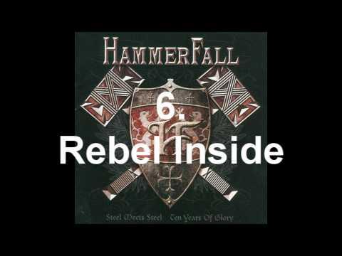My Top 10 Hammerfall songs