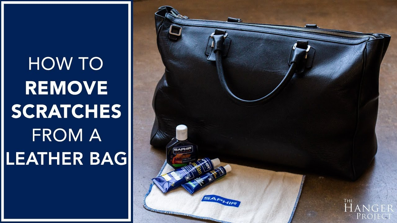 9e752afd31 How To Remove Scratches from A Leather Bag - YouTube