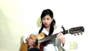 Hạ Trắng - Guitar Bé Mẫn( Virginia Nguyen) | Nhạc Trịnh Công Sơn