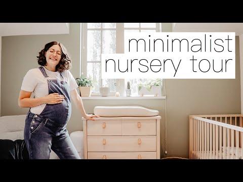 Minimalist Nursery Tour & Organization    Gender Neutral