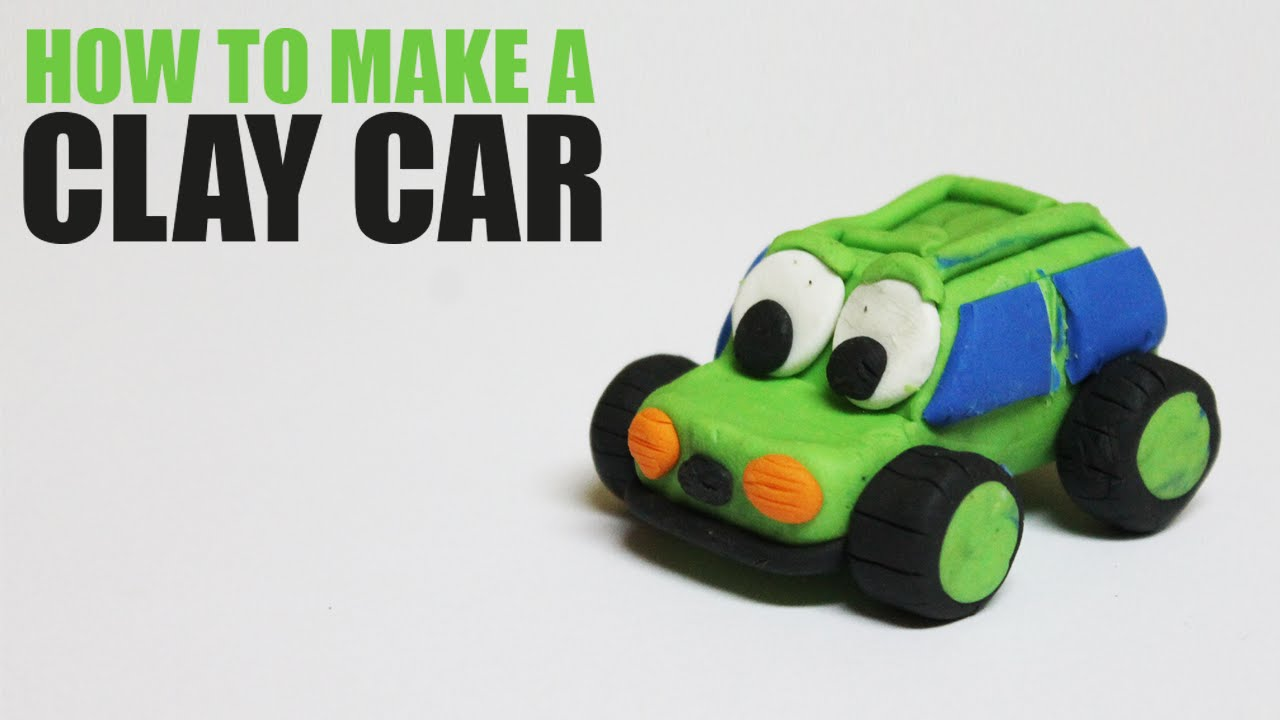 how to make a clay car clay tutorial for kids youtube. Black Bedroom Furniture Sets. Home Design Ideas