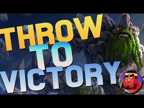 THROWING TO VICTORY! | Dota 2 Tiny | DOTASUMO