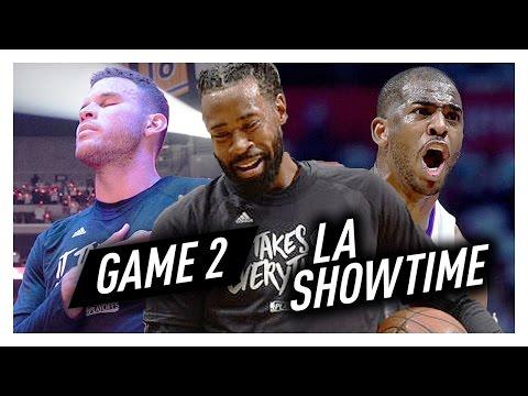Chris Paul, Blake Griffin & DeAndre Jordan Game 2 Highlights vs Jazz 2017 Playoffs - SHOWTIME!
