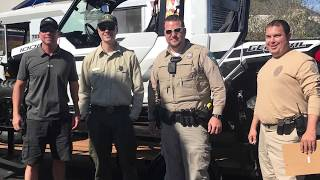 Boulder City Police Department & Community Cleanup