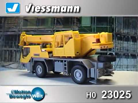 BEET MODEL TRAIN ACCESSORIES, Viessman 23025 Functional HO Road Crane