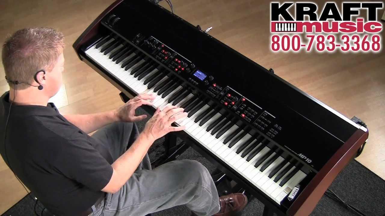 kraft music kawai mp10 digital stage piano demo with sean o 39 shea youtube. Black Bedroom Furniture Sets. Home Design Ideas
