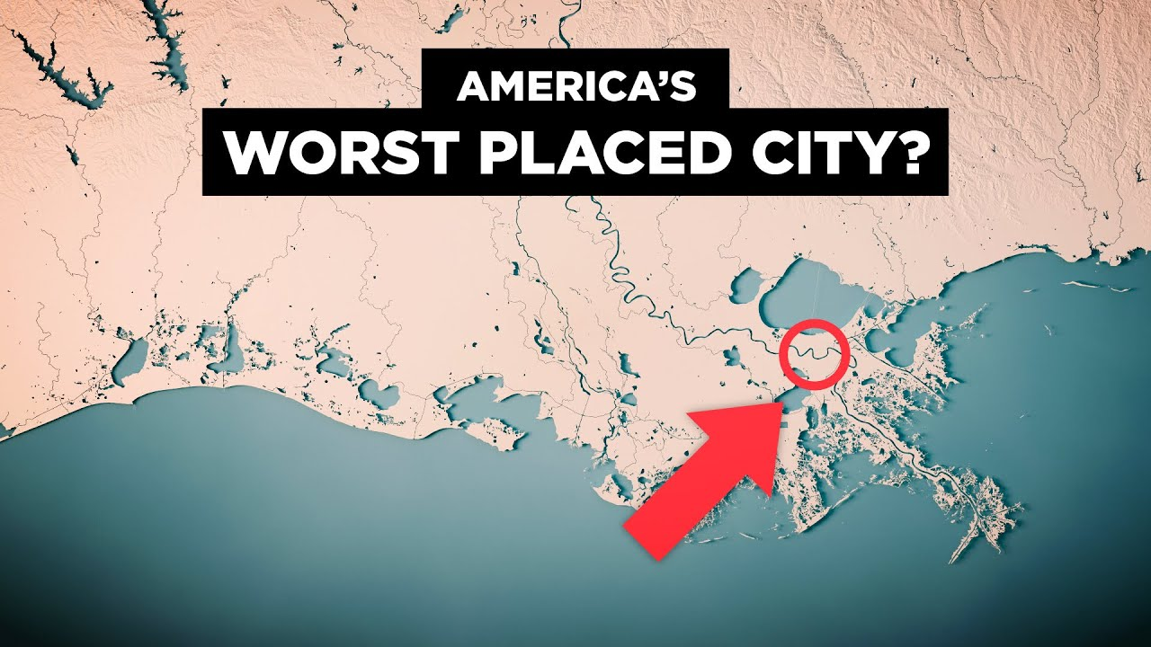 PlayTube Travel: Why New Orleans' Geography SUCKS