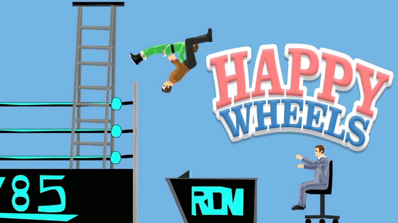 Happy Wheels Wwe Flip Piledriver 412 Youtube