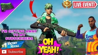 *LIVE* Wrappable skins, Gifting every Solo win, Face cam (Fortnite Battle Royale)