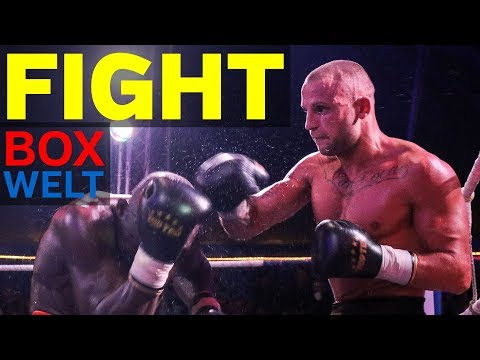 Omar Jatta vs Björn Schicke - 10 rounds super middleweight - 03.10.2017 - Zirkus Busch