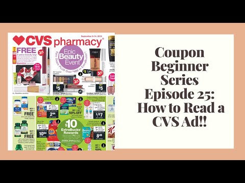 How to Read a CVS Ad|CVS Couponing|Extreme Coupon Beginner Series Ep 25!