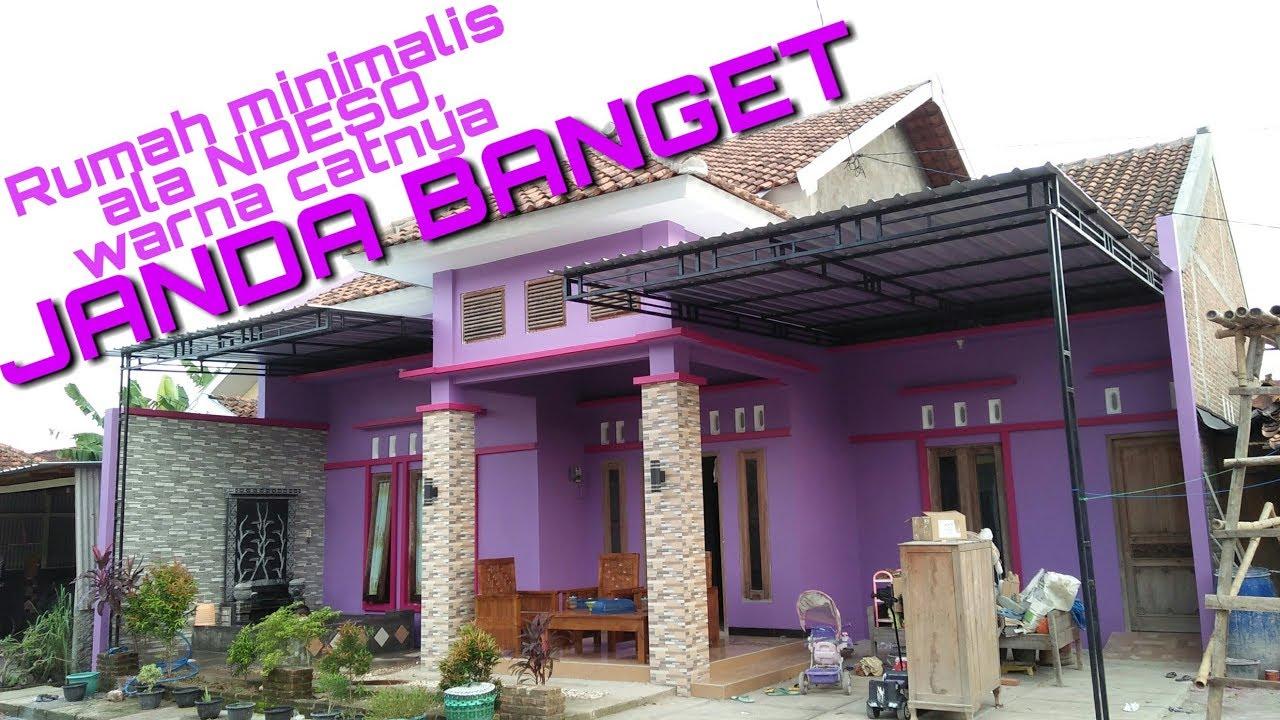 WARNA JANDA KATANYA. Rumah Minimalis 2019 Dengan Warna Ungu Menggoda -  YouTube