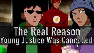 The Real Reason Young Justice Was Cancelled