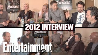 'Avengers' 2012 Roundtable Interview: Original Cast & Joss Whedon Assemble | Entertainment Weekly
