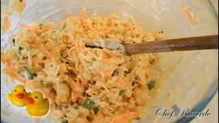 How To Make Simple & Fresh Homemade Coleslaw At Home For A Sunday Dinner