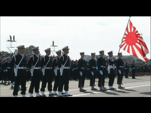 Japanese Military Parade 2016 with U.S. Army