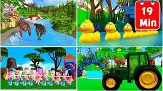 เพลงไดโนเสาร์ ก เอ๋ย ก ไก่ เพลงเด็กพี่นุ่น น้องภูมิ By KidsMeSong