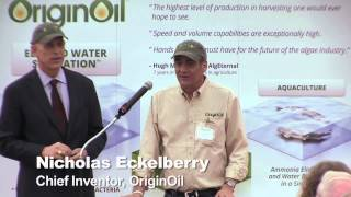 OriginOil Launches Aquaculture Showcase in California