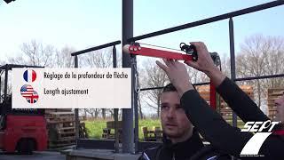 GILET PNEUMATIQUE AVEC EQUILIBREUR DE CHARGE vidéo