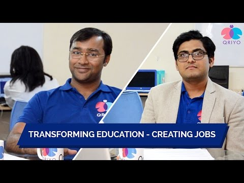 Qriyo - Transforming Education | Creating Jobs | India's 1st Managed Home Tuition App