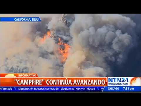 Un nuevo incendio forestal amenaza a California