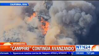 Un nuevo incendio forestal amenaza a California